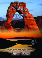 Why Creation is Important by Brian Young Creation Instruction